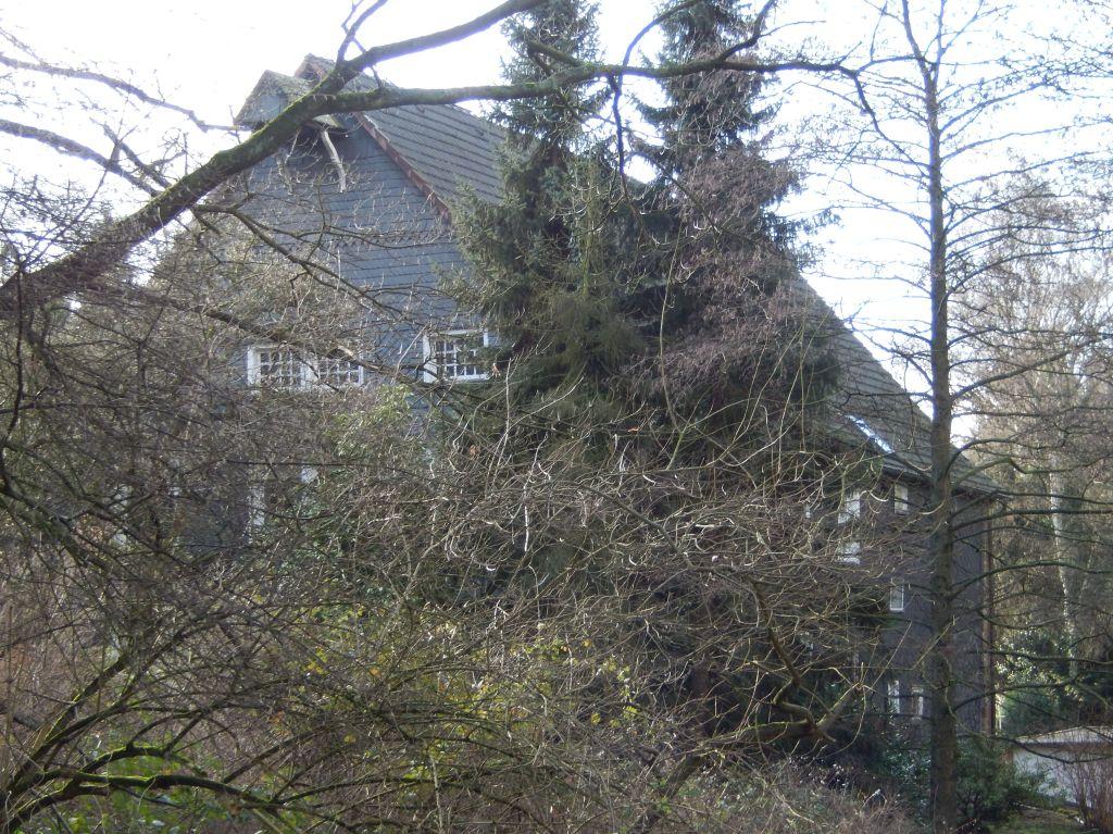 Heutiger Blick auf Haus Nr. 68 aus dem sog. Pastorssiepen