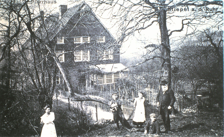 altes-pastorat-im-jahr-1900-bochum-stiepel