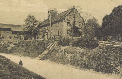 Haus Frische auf einer Postkarte aus dem Jahr 1912