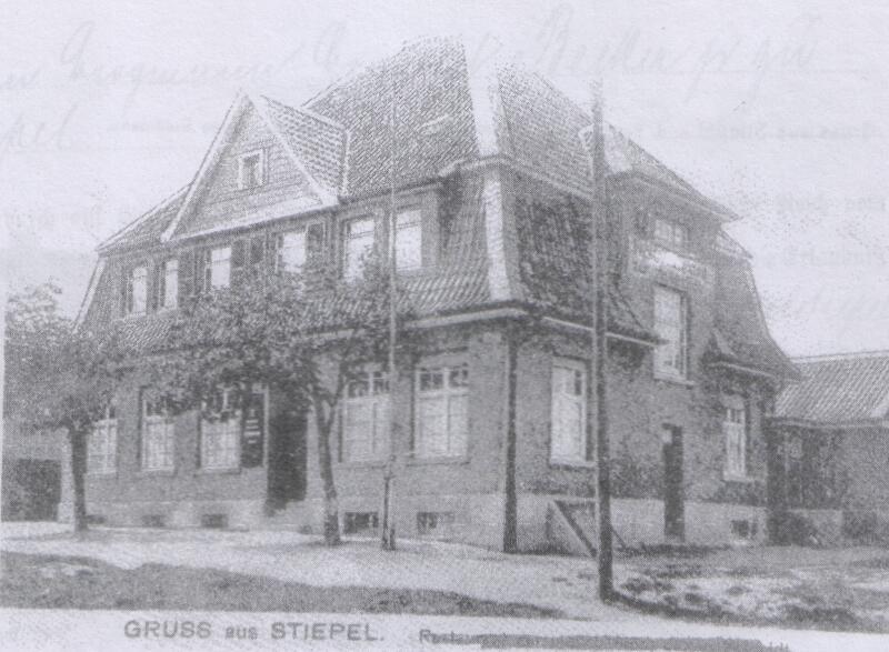Schankwirtschaft zur steilen Höh / Praxisräume Dr. Gilbert (Foto: Archiv W. Dickten)