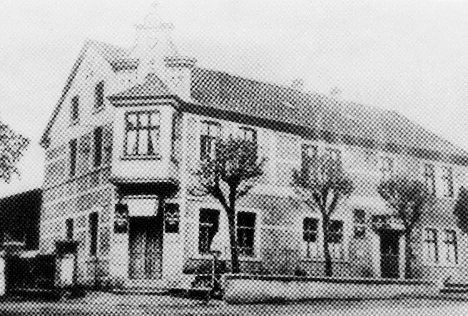 Chausseegelderhebungsstelle I (Haar), Foto: Archiv W. Dickten