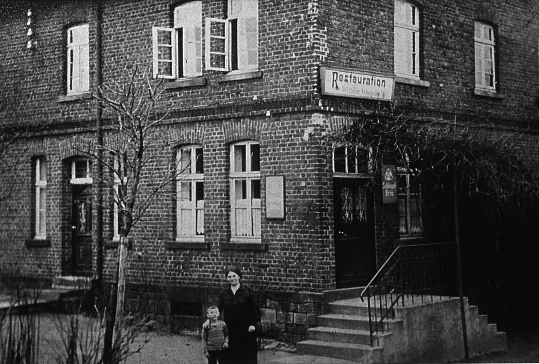 Die nicht mehr bestehende Wirtschaft Wengeler, die Gründungslokal der Kompanie Brockhausen (Schützenverein) war. Foto: W. Dickten