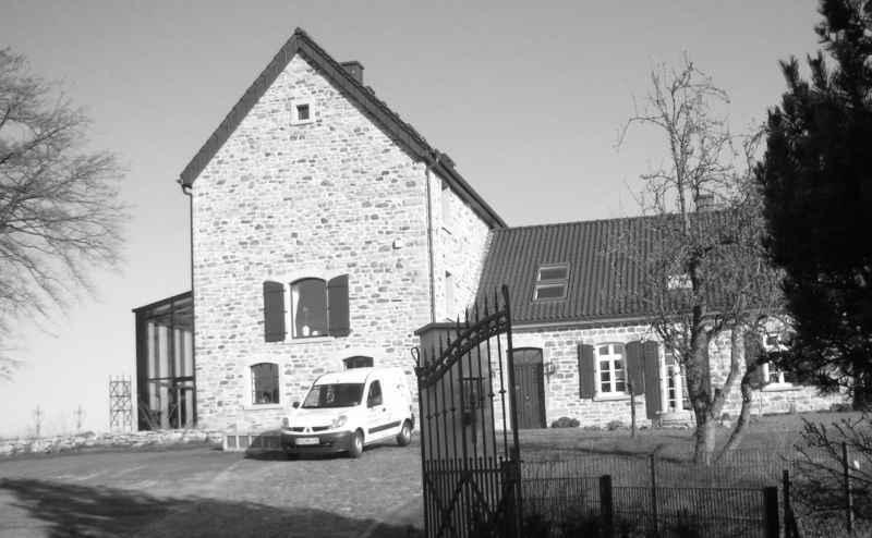 Das renovierte Gebäude in seinem heutigen Zustand.