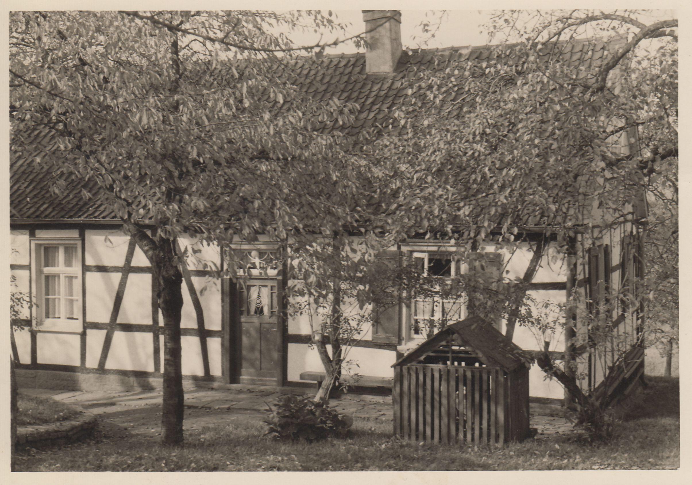 Das Gebäude der Sonntagsschule, heute Gräfin-Imma-Straße 56 (Foto: H.-D. Eickelbeck)