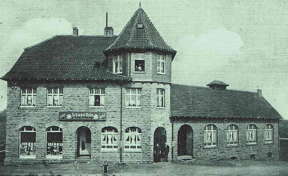 Wirtschaft von Heinrich Schreier, 1914