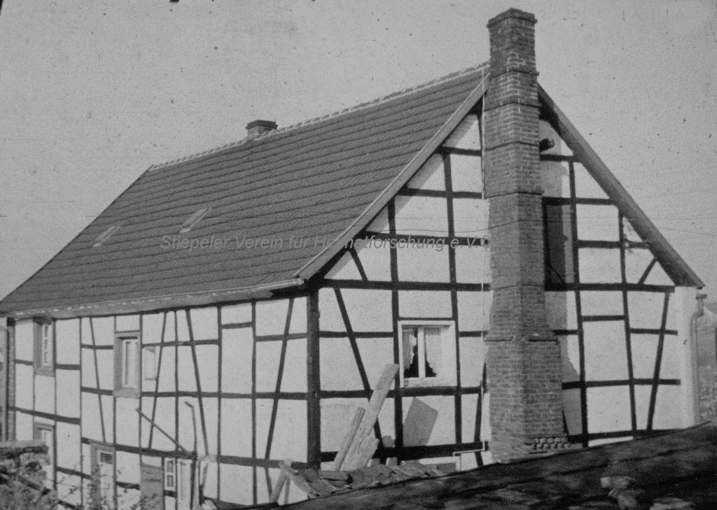 Das ursprüngliche Haus Schreier mit dem gemauerten Kamin, Schankwirtschaft ab 1836