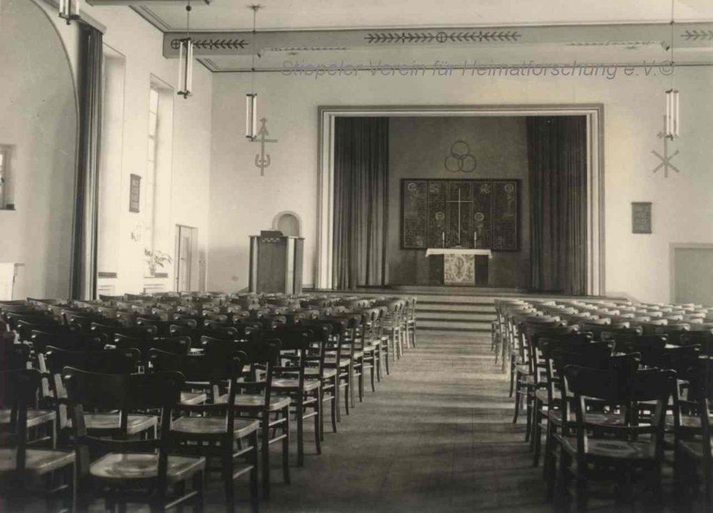 Lutherhaus: Saal, 1950