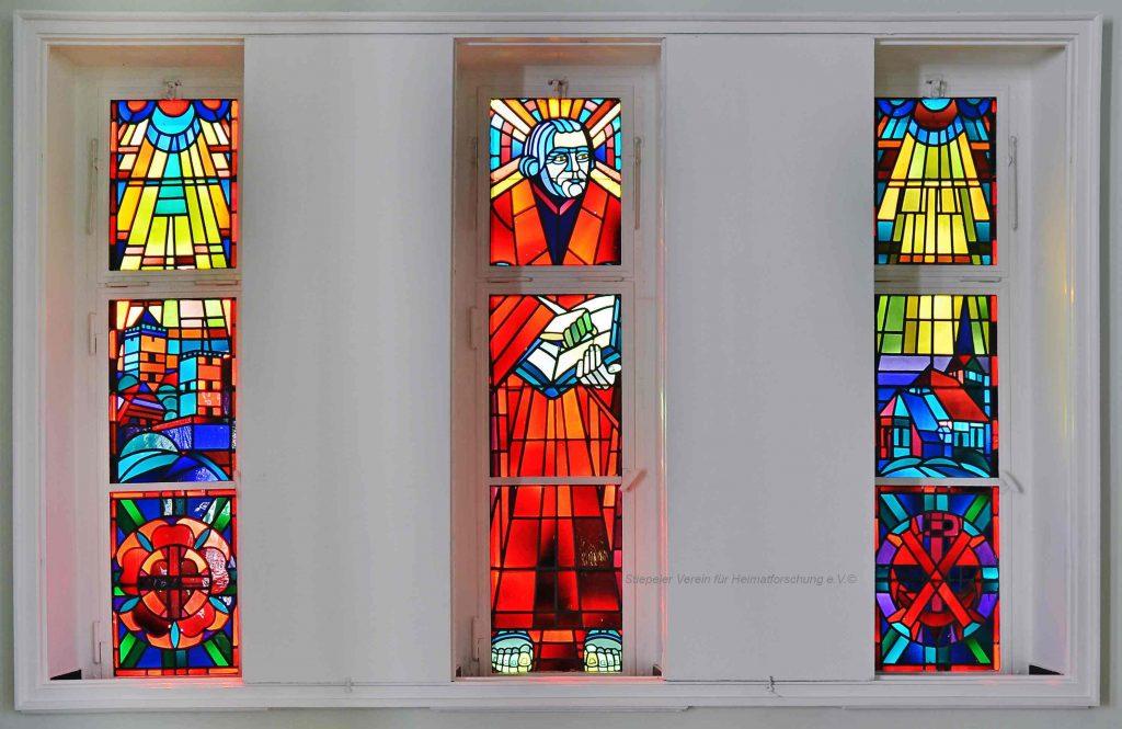 Lutherhaus: Verglasung Altarraum