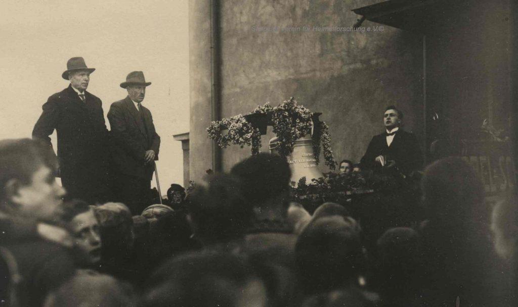 Lutherhaus: Glockenweihe 1932