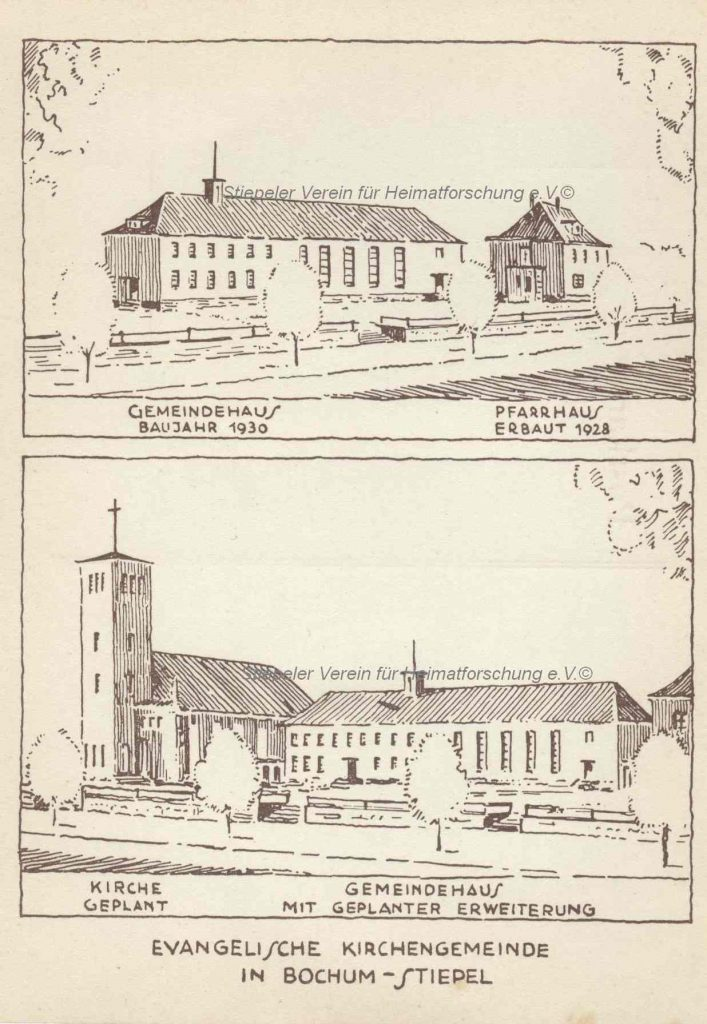 Lutherhaus: Postkarte um 1930