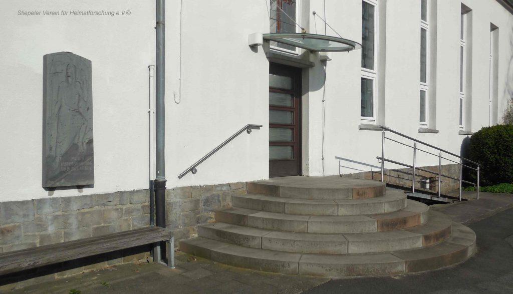 Lutherhaus: Seiteneingang