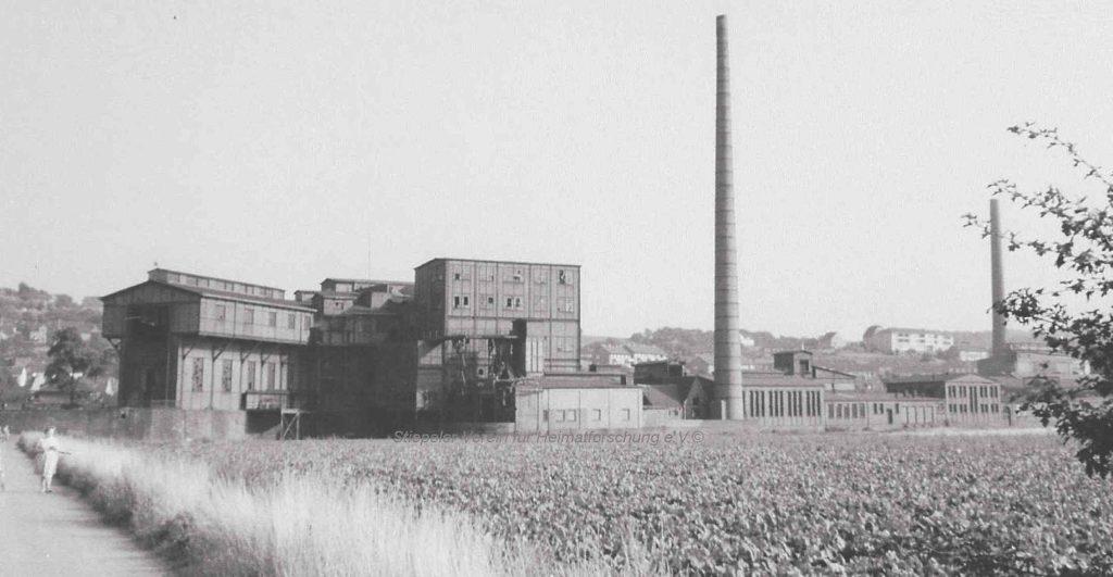 Zeche Klosterbusch: Aufbereitungsanlagen in Herbede