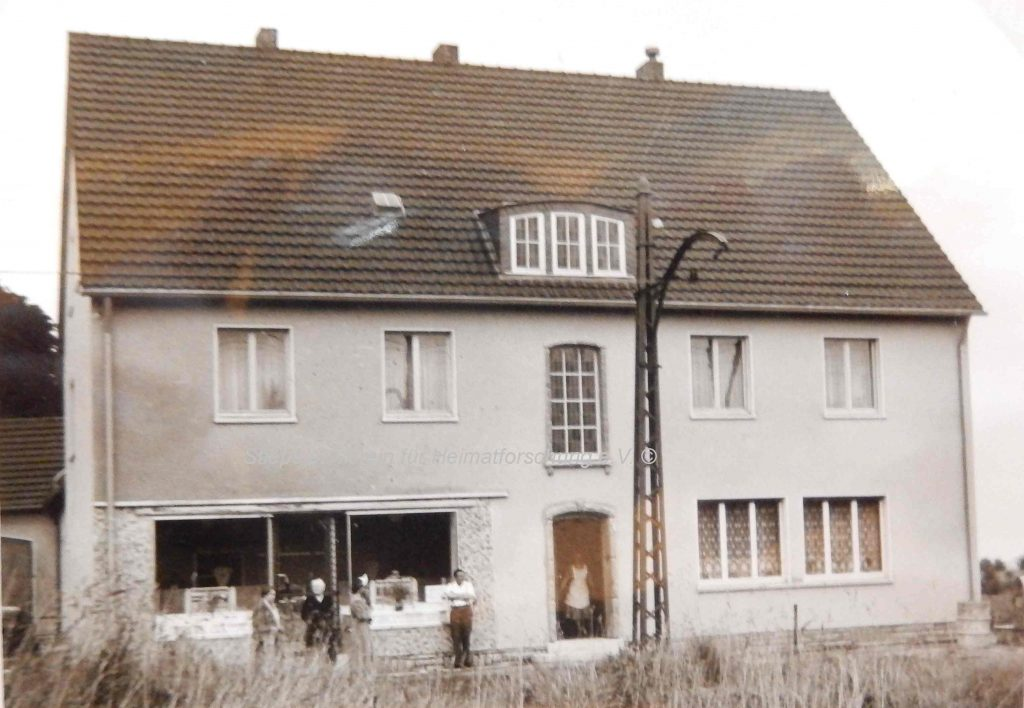 Metzgerei Parr: Dritter Standort Kemnader Straße 201 (1955)