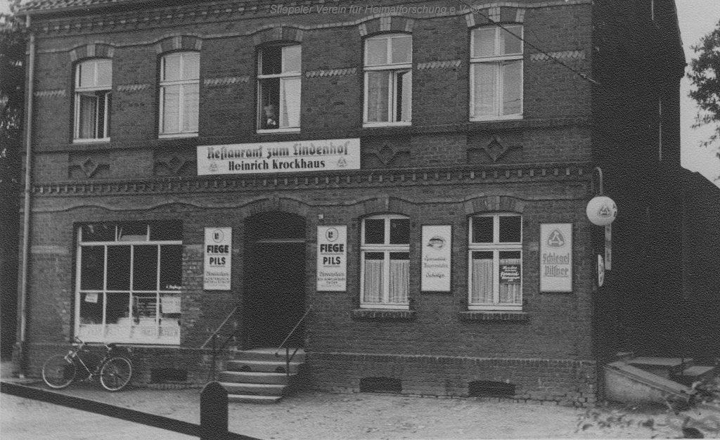 """""""Zum Lindenhof"""" nach dem 2. Weltkrieg."""