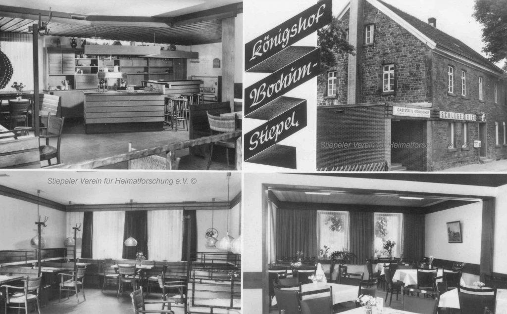 Königshof, Postkarte 1967