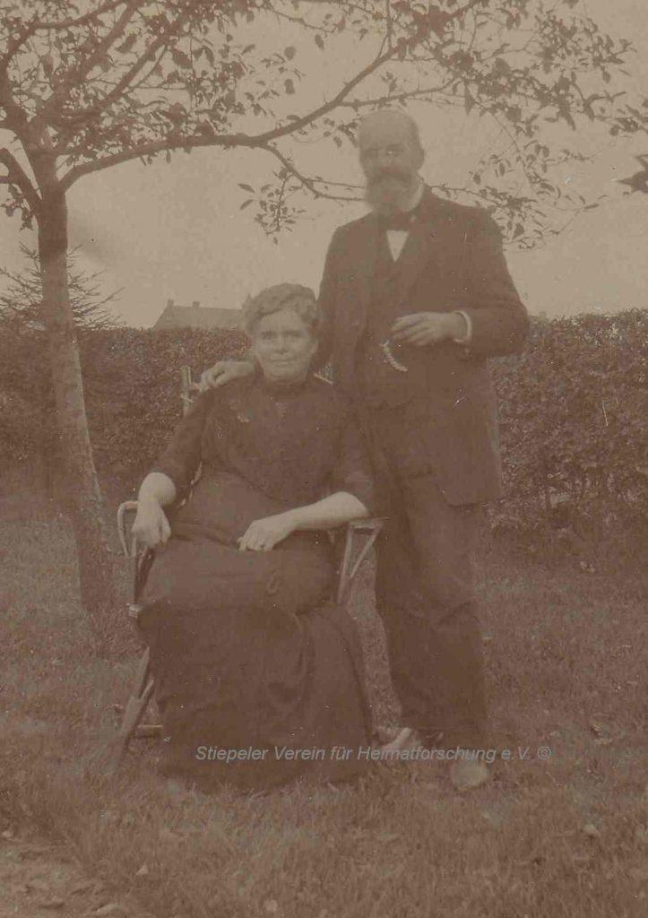 Ingenieur Friedrich zur Oven Krockhaus mit seiner Frau Lydia, geb. Große Munkenbeck