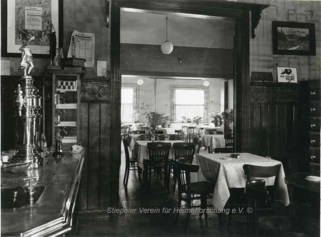 Innenansicht Haus Nettelbeck, 1950er Jahre