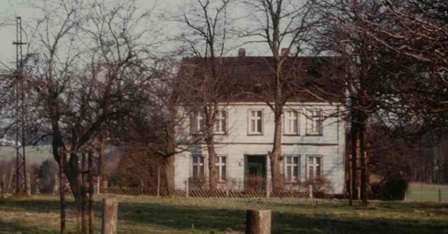 """Amtshaus """"Im Königsbusch"""" (bis 1910), Foto 1950er Jahre (Sammlung Willi Dickten)"""