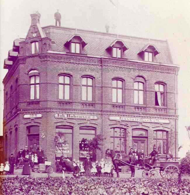 Foto des zweiten Hauses Eickmeier, nach 1900