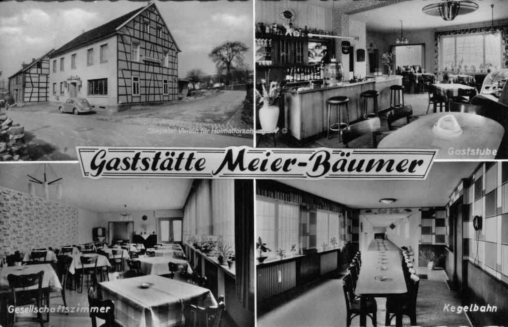 Postkarte Meier-Bäumer 1960er Jahre