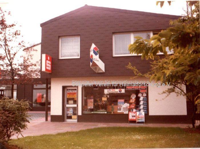Eröffnung Tabakwaren-/Lottogeschäft 1959