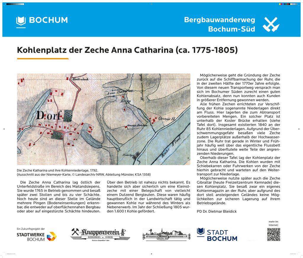 Kohlenplatz Anna Katharina