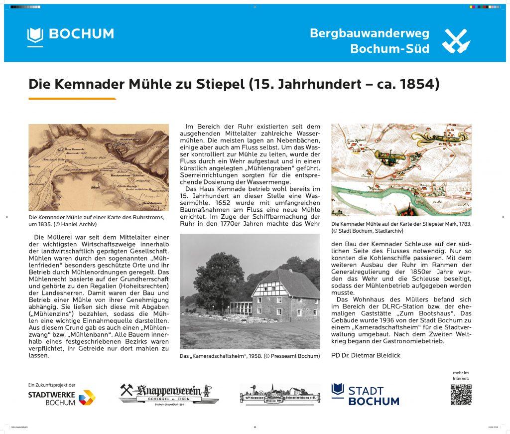 Kemnader Mühle (auch Langenbachs Mühle)
