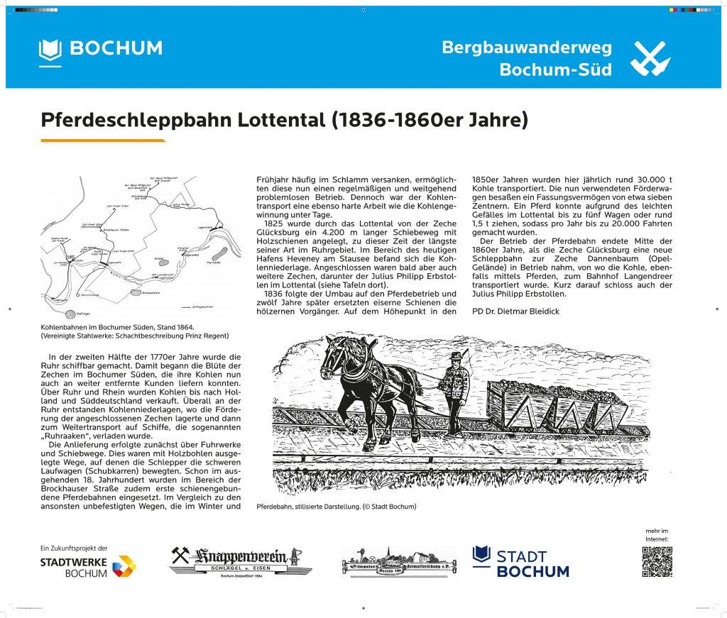 Pferdeschleppbahn Lottental